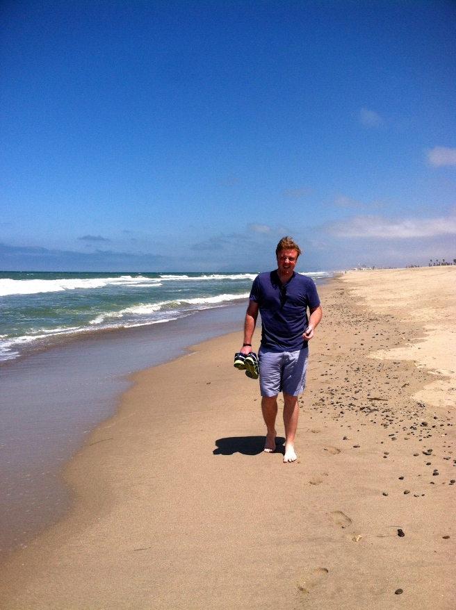 Rhett at beach